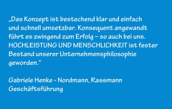 Gabriele Henke – Nordmann, Rassmann – Geschäftsführung