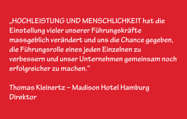 Thomas Kleinertz – Madison Hotel Hamburg – Direktor