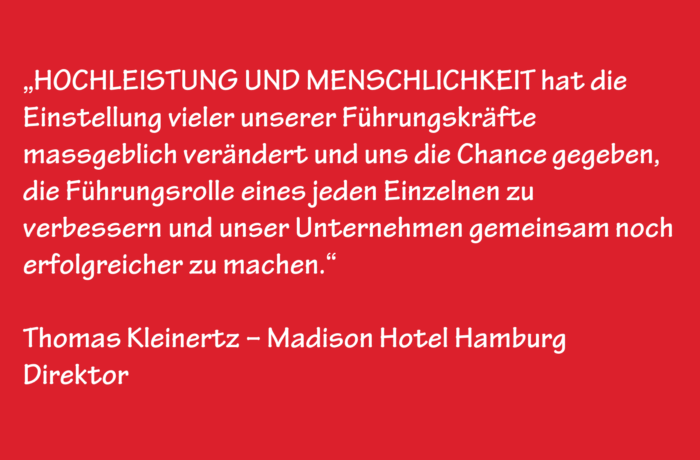 Thomas Kleinertz – Madison Hotel Hamburg – Direktor