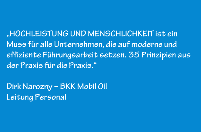 Dirk Narozny – BKK Mobil Oil – Leitung Personal